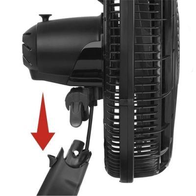 Ventilador De Mesa Arno Vf41 Silence Force 127v Com 3 Velocidades - Preto