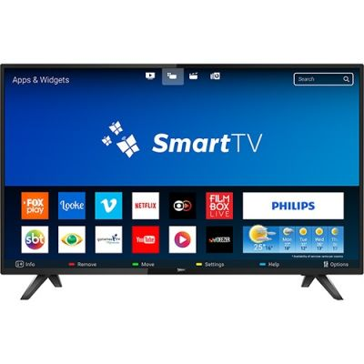 "Smart TV Led 43"" Philips 43PFG5813/78 Full HD com Conversor Digital Wi-Fi"