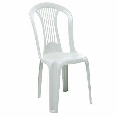 Cadeira Bistrô Plástica Branca Imperial