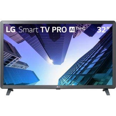 Smart TV Tela 32 Pro LG 32LM621CBSB.AWZ HD com Conversor Digital Wi-Fi 2 USB