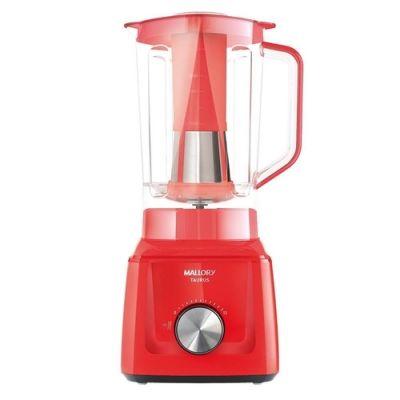 Liquidificador Mallory Taurus Vermelho 1300W 3,1L 12vl