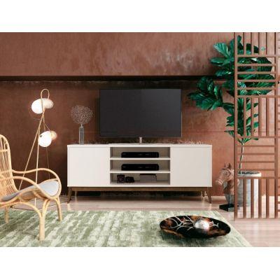 Rack para TV Titan Off White - EDN Móveis