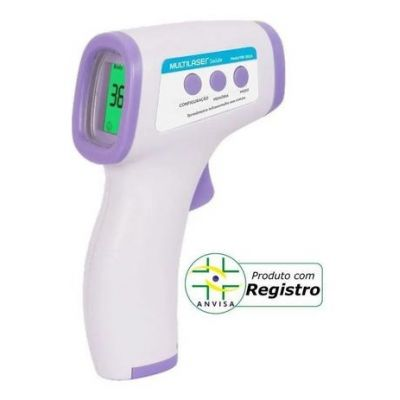 Termômetro Sem Contato Infravermelho Multilaser HC260 Anvisa