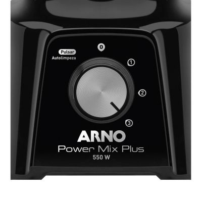 Liquidificador Arno Power Mix Plus LQ20 Copo de Acrílico 3 Velocidades + Pulsar