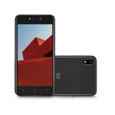 Smartphone Multilaser E, 3G, 32GB, Tela 5.0, Quad Core, Preto P9128
