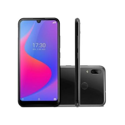 """Smartphone Multilaser G Pro 4G 2GB+32GB LCD IPS 6,1"""" Android 9 Octa Core Preto"""