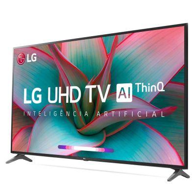 TV LED 50 Smartv 4K UHD LG 50UN731C 3 HDMI 2 USB Wi-Fi Assit. Virtual Bluetooth