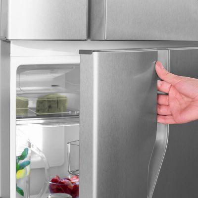 Refrigerador Electrolux DFX41 Frost Free 127v Turbo Congelamento 371L - Inox