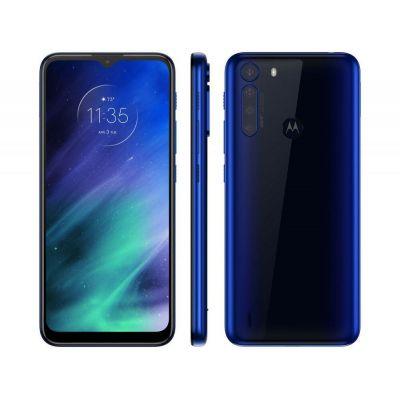 "Smartphone Motorola One Fusion Azul 128GB  4GB  Tela 6,5"" Câm. Quád. 48MP"