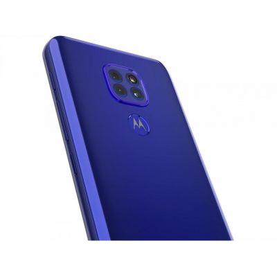 "Smartphone Motorola Moto G9 Play Azul 64GB 4GB 6,5"" Cam Tripla 48Mp selfie 8Mp"