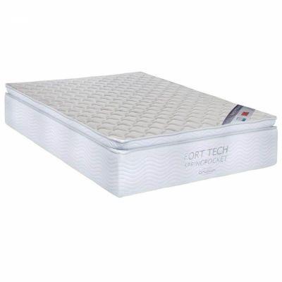 Colchão + Box Ortobom Queen Super Pocket Fort Tech 158