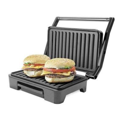 Grill Mallory Asteria Compact, 900W, Preto/Prata 110V