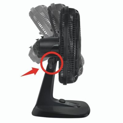 Ventilador de Mesa 40cm Arno Ultra Silence Force Preto VD40 110V Desmontável