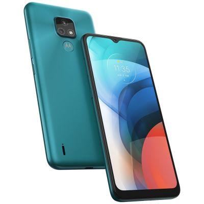 "Smartphone Motorola Moto E7 6.5"" Octa Core 32GB 2GB Câmera Dupla - Aquamarine -"