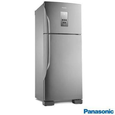 RefrigeradorNR-BT51PV3X Duplex Panasonic F.Free 435L Inverter Aço Escovado 127v