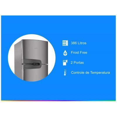 Refrigerador Consul Frost Free Evox - Duplex 386L CRM43NKBNA 110 Volts