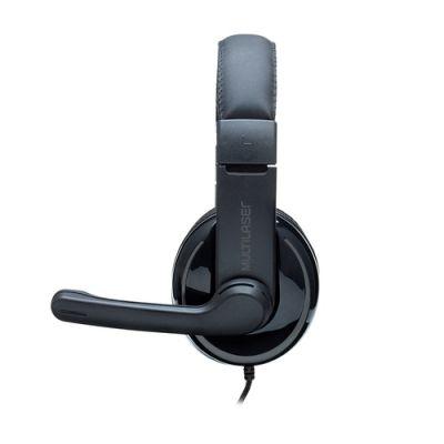 Fone Headset Pro Ph316 Pto Multilaser