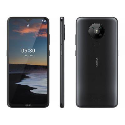 """Smartphone Nokia 5.3 128GB Preto 4G Octa-Core - 4GB RAM 6,55"""" Câm. Quádrupla"""