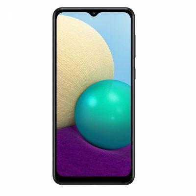 """Smartphone Samsung A02 32GB Preto 4G - Quad-Core 2GB RAM 6,5"""" Câmera Dupla"""
