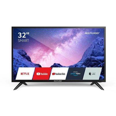 TV 32 Polegadas HD Com Função Smart E Wi-fi Integrado - TL031 Multilaser