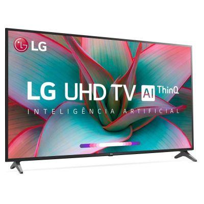 TV 60 Led Smartv 4K UHD LG 60UN7310PSA Wi-Fi, HDR, Inteligência Artificial ThinQ