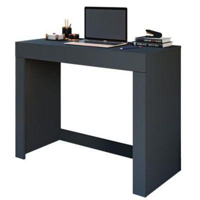 Mesa para Computador com 1 Gaveta Cléo – Permóbili - Chumbo