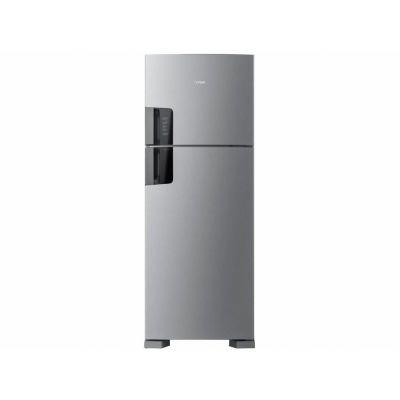 Refrigerador Consul Frost Free Duplex 450L Inox 110 volts CRM56HK