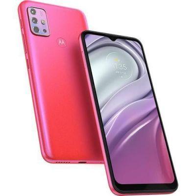 Smartphone Moto G20 Pink, 64/4GB, Tela 6.5'' Câmera Quádrupla + Selfie 13MP