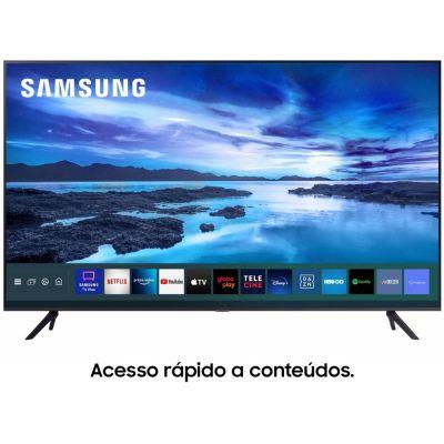 "TV Smart 50"" Crystal 4K Samsung 50AU7700 - Wi-Fi Bluetooth HDR Alexa Built in"