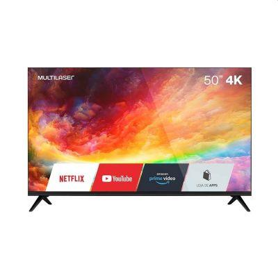 """TV 50"""" FHD 4k Smart Wi-fi Integrado - TL032 Multilaser"""