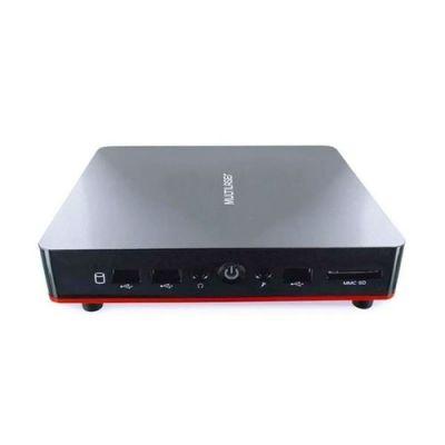 Mini Desktop Multilaser Urban Red Core I3 4gb 120gb Ssd Windows 10 Home