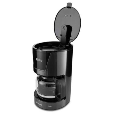 Cafeteira Elétrica Titanium Inox Philco 18xicaras Pcf18t 127 Volts