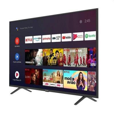 TV Smart Android 50'' LED 4K UHD Panasonic TC-50HX550B 3 HDMI 2 USB Bluetooth