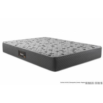 Colchão Espuma Casal D45 Black 138x188x20 Herval