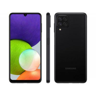 Smartphone Samsung Galaxy A22 128GB 4G Wi-Fi Tela 6.4'' Dual Chip 4GB RAM Câmera