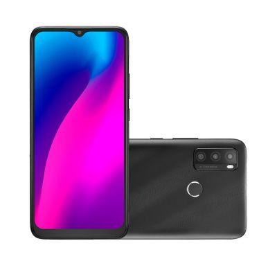 Smartphone Multilaser G Max 2 Preto P9128 128/4gb tela 6.5 câmera tripla