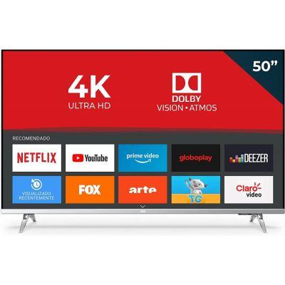 TV Led 50 Smart AOC 4K 50U6305/78G UHD 3 HDMI 2 USB HDR10+ Dolby Vision Dolby