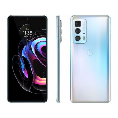 "Smartphone Motorola Edge 20 Pro Branco 5g 256/12GB Tela 6,7"" Câm. Tripla"
