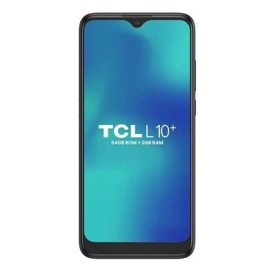 "Smartphone TCL L10+ Plus, Titânio, 6.2"", Câm. 13+5+2MP, Frontal de 5MP, 64GB 2GB"