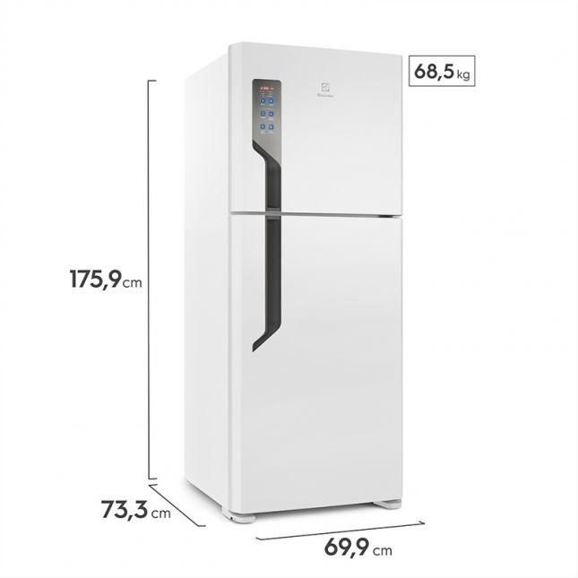 Refrigerador  TF55 com Prateleira Reversível Branco – 431L