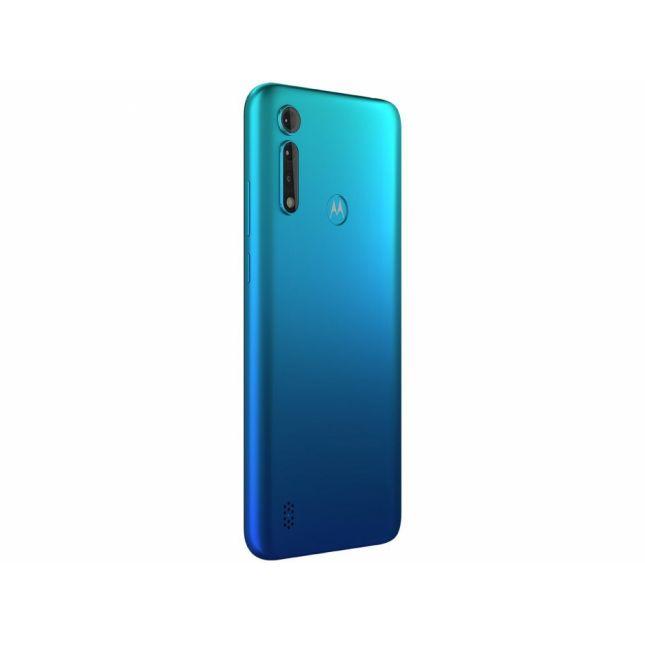Motorola Moto G8 Power Lite Azul Aqua 64GB Tela 6.5 Cam 16MP 2MP 2MP