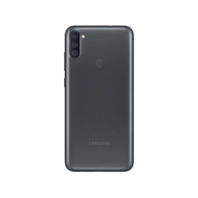 "Smartphone Samsung Galaxy A11 64GB Preto 4G - Octa-Core 3GB RAM 6,4"" Câm. Tripla"