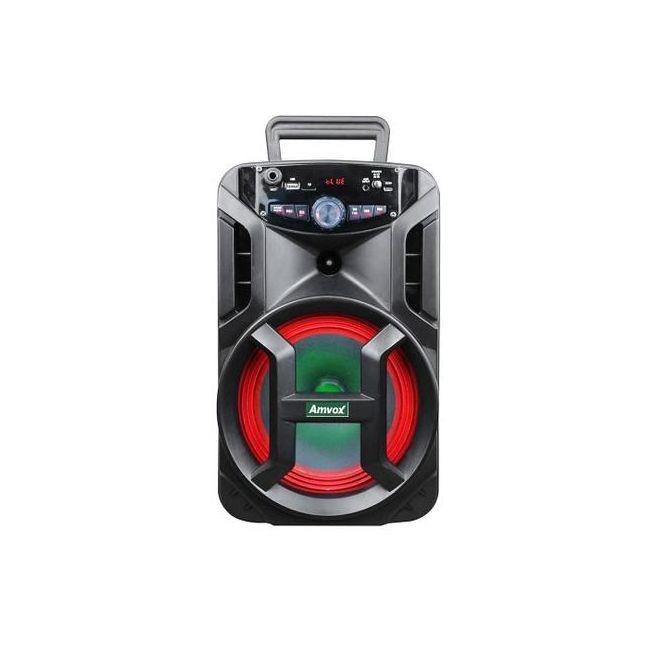 Caixa Amplificada Amvox ACA-188 Gigante Usb, Sd, Bluetooth, Led 180W