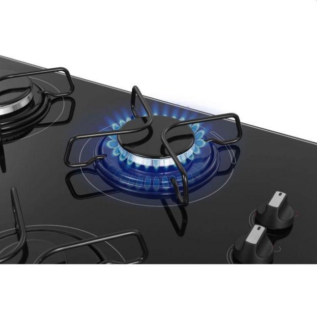 Fogão Cooktop a Gás Mondial CTG-01 4 Queimadores - Bivolt