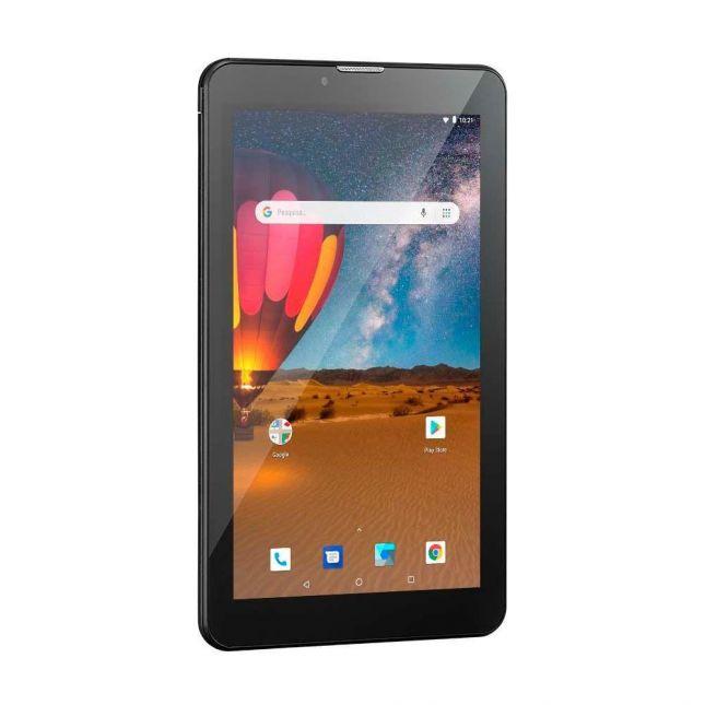 Tablet Multilaser M7 3G Plus Dual Chip Quad Core 1 GB de Ram Memória 16 GB