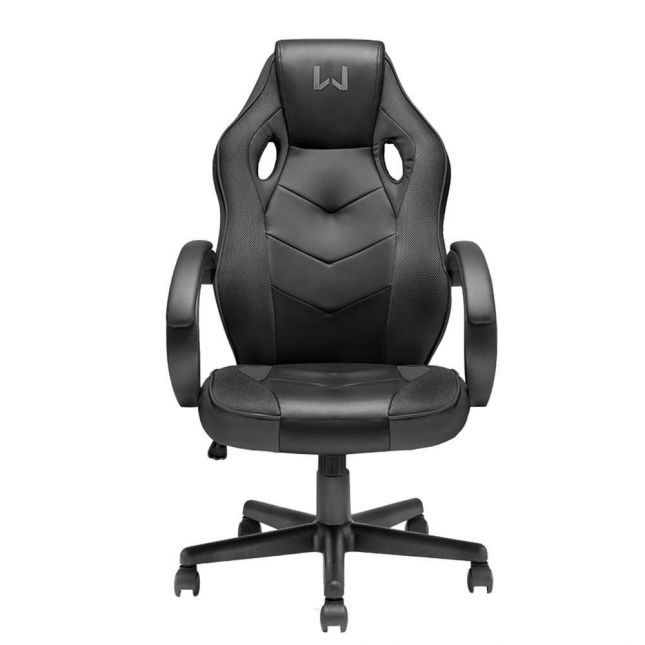 Cadeira Gamer Warrior Ga182, Até 120kg Tongea Preto Multilaser